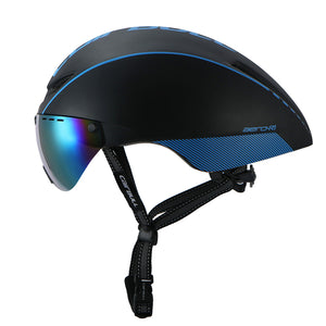 Magnetic Goggles Safety Helmet | Cyclists Haven