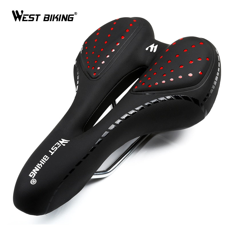 PU Leather Hollow Cycling Seat