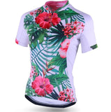 Female Short Sleeve Cycling Jersey