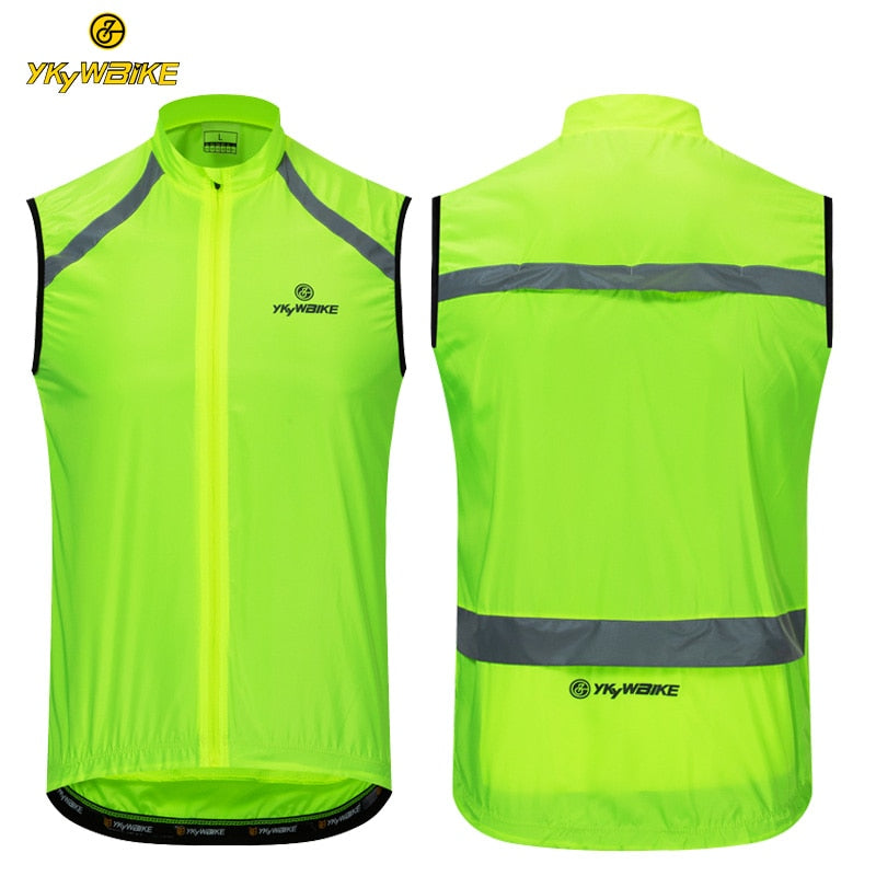 Windproof Sleeveless Cycling Jersey