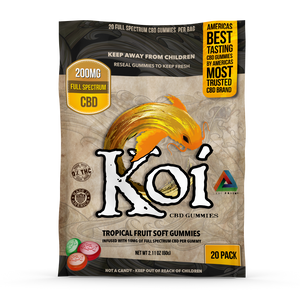 Koi CBD Tropical Fruit Gummies