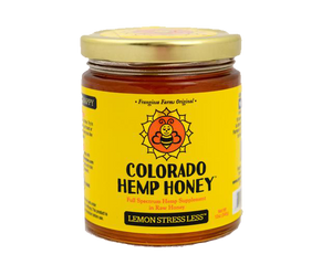 Lemon Stressless CBD Infused Hemp Honey