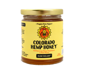 Raw Relief CBD Infused Hemp Honey