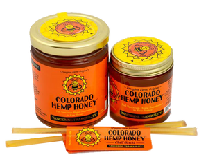 Tangerine Tranquility CBD Infused Hemp Honey