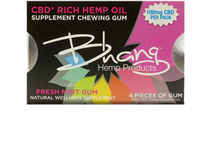 Bhang CBD Chewing Gum