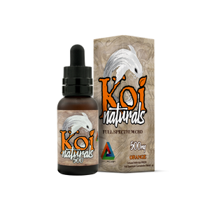 Koi Naturals CBD Tincture- Orange Flavor