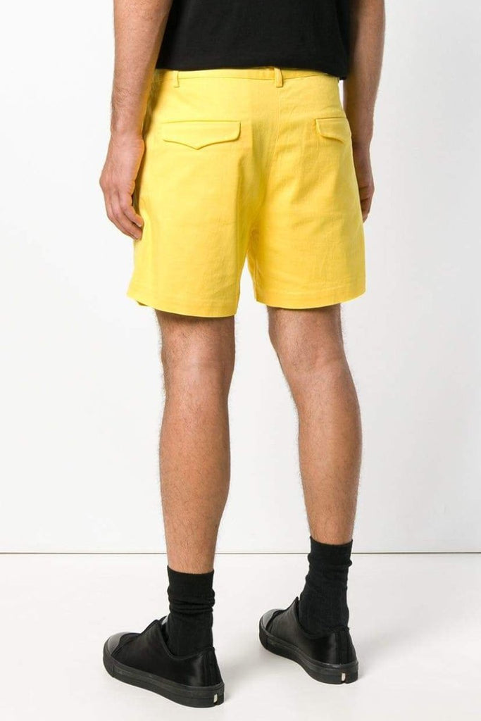 UNCONDITIONAL SS19 Banana Yellow cotton tailored shorts