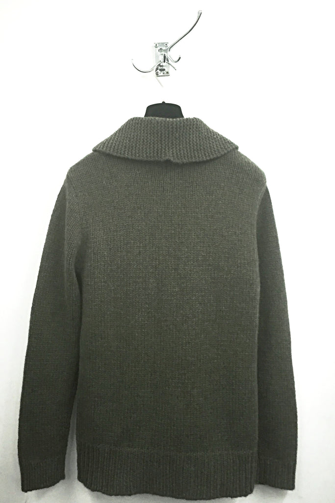 UNCONDITIONAL AW17 Military Cashmere 24 ply fisherman jumper.