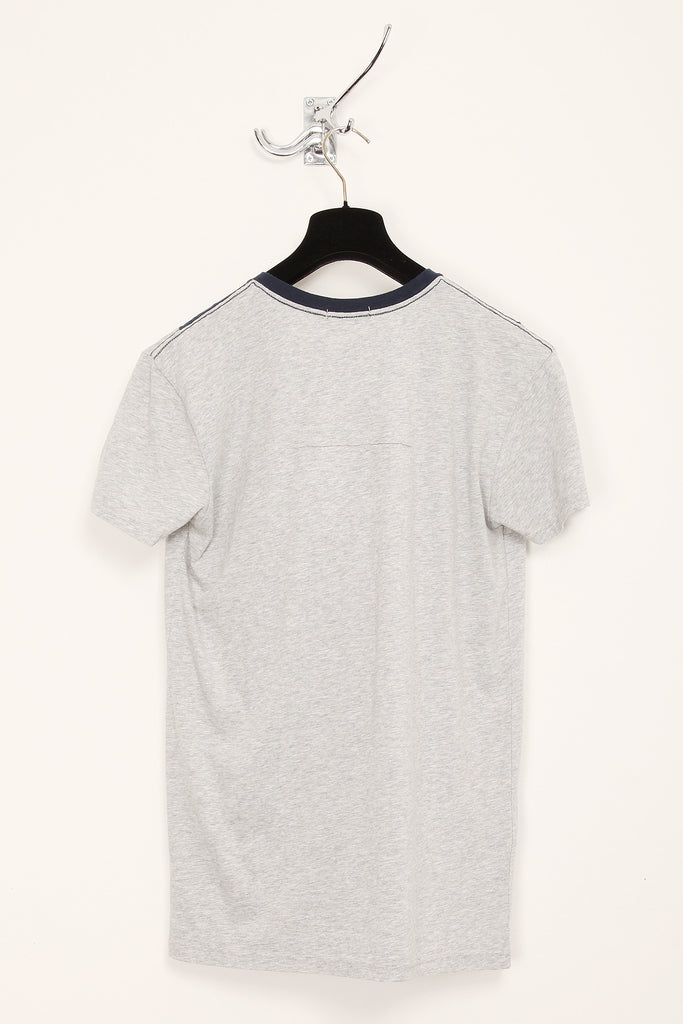 UNCONDITIONAL Dirty White and Black V-panel T- shirt