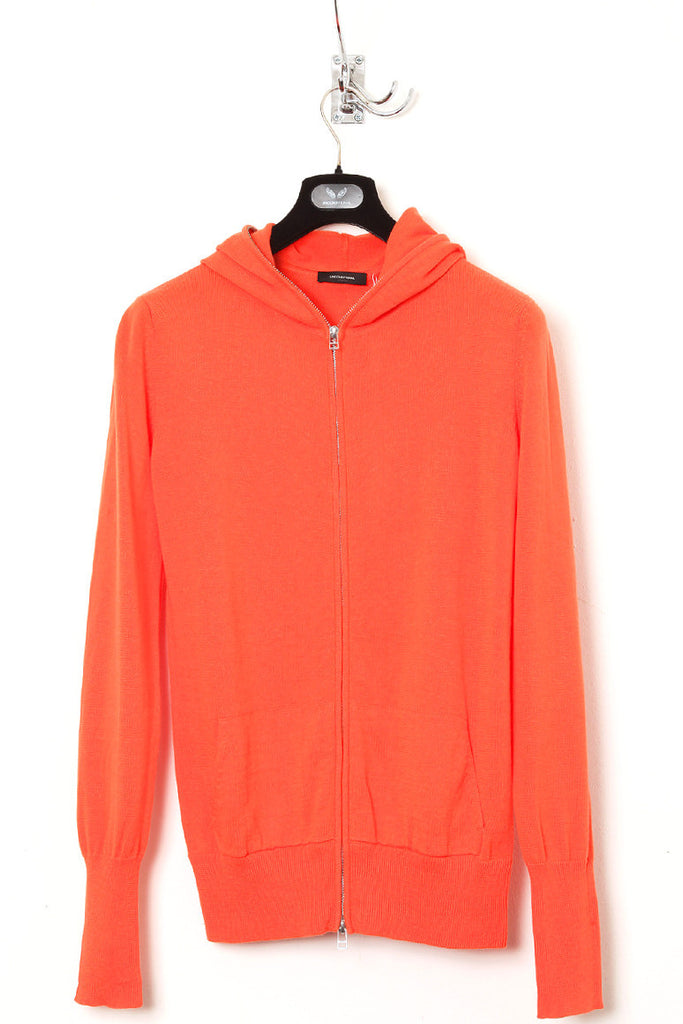 UNCONDITIONAL orange full zip hoodie