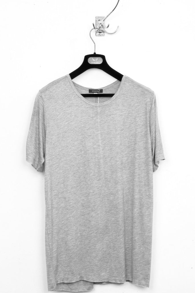 UNCONDITIONAL FLANNEL GREY LIGHT loose knit rayon t-shirt.