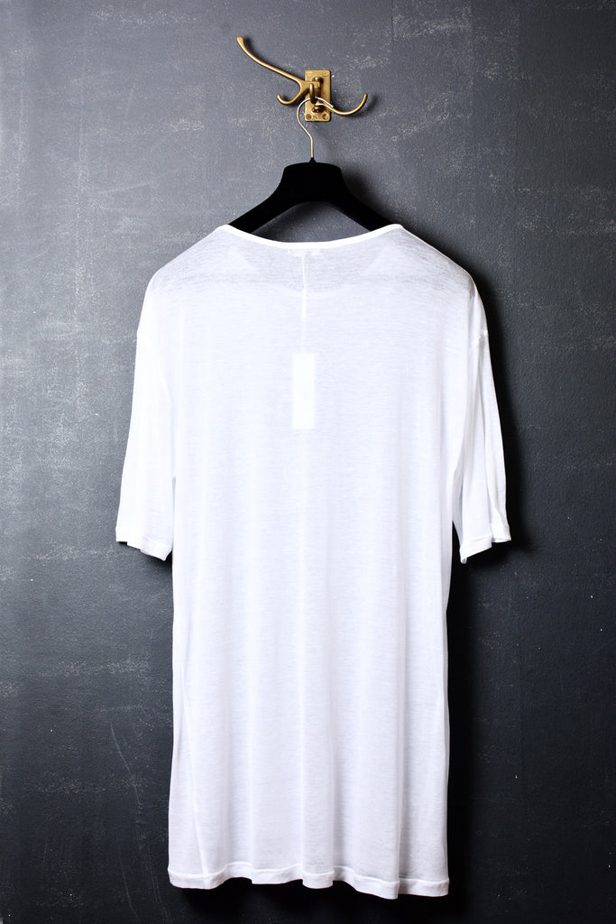 UNCONDITIONAL perfect oversized finest white cotton jersey crew neck t-shirt.