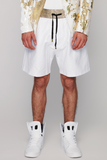 UNCONDITIONAL BESPOKE White and Gold shorts