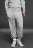 UNCONDITIONAL Flannel Grey Pure grade A Cashmere joggers