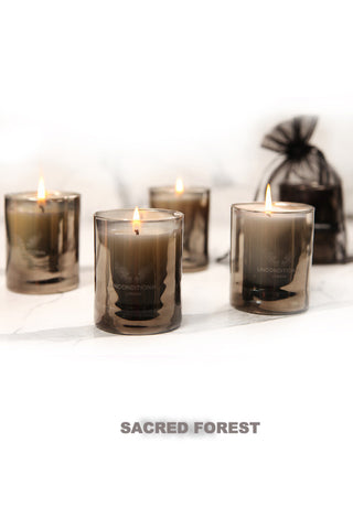 Black Assam scented candle