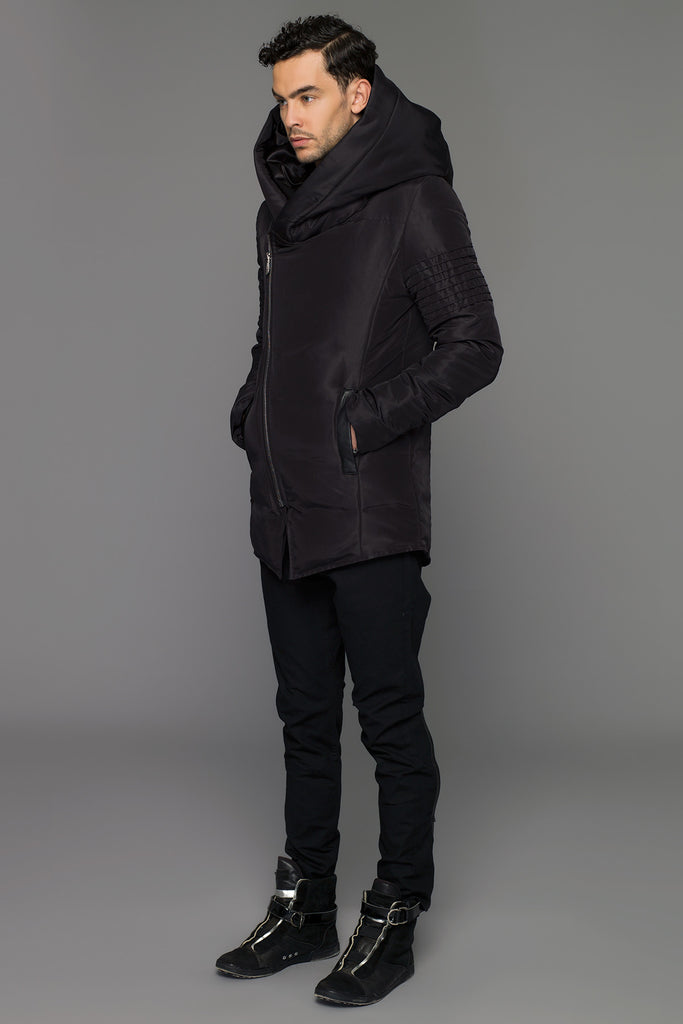 UNCONDITIONAL AW19 Signature Black goosedown parka