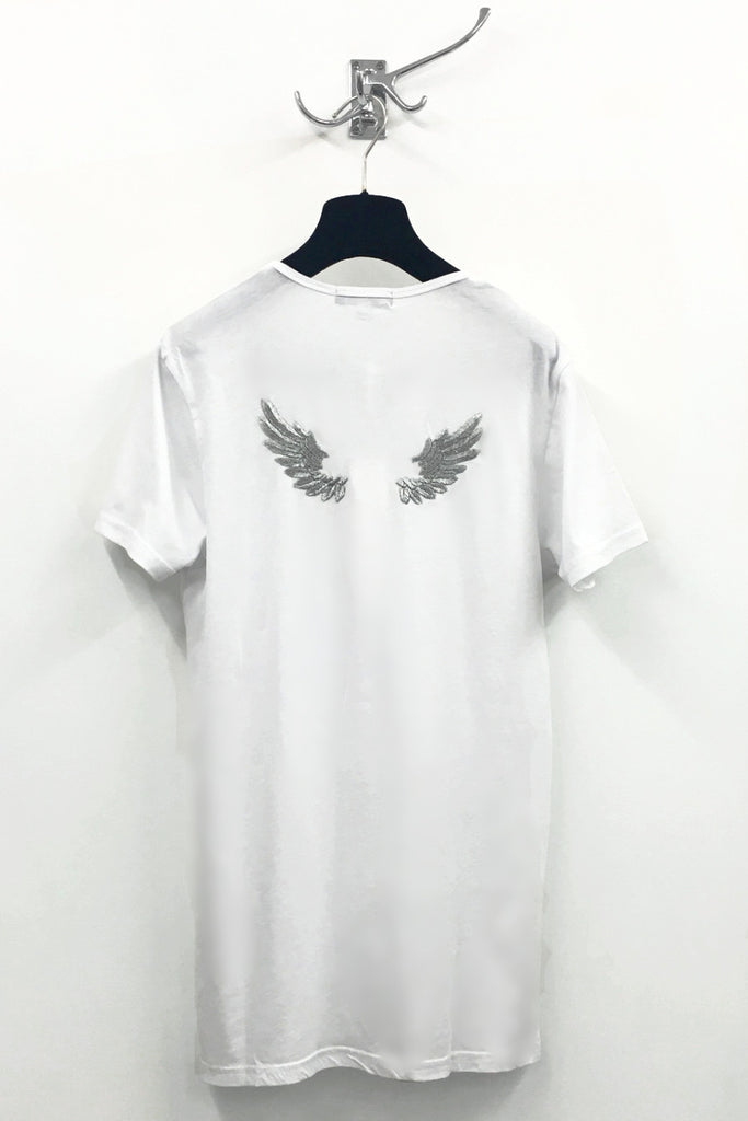 UNCONDITIONAL Signature short sleeve t-shirt with wings