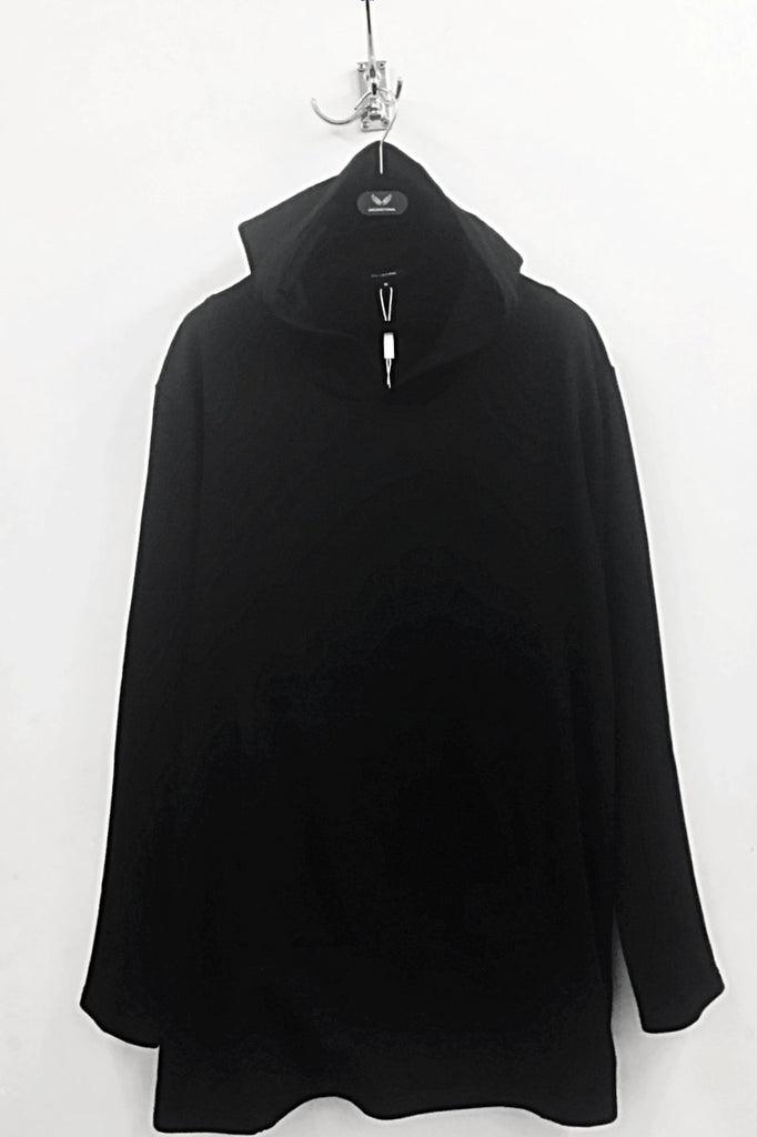 UNCONDITIONAL SS18 Black long sleeved tunic cotton sweatshirt