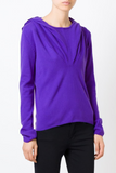 UNCONDITIONAL Womens Electric Purple Grade A cashmere