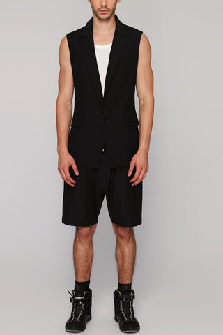 UNCONDITIONAL white racer back vest