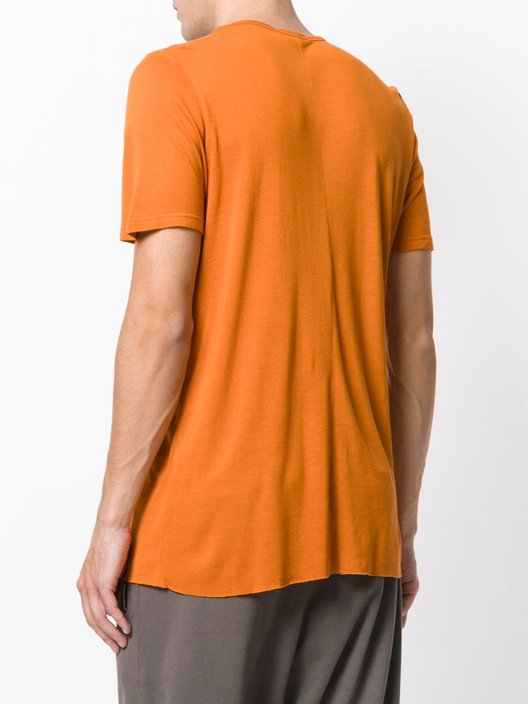 UNCONDITIONAL Burnt Gold  loose knit rayon crew neck T-shirt.