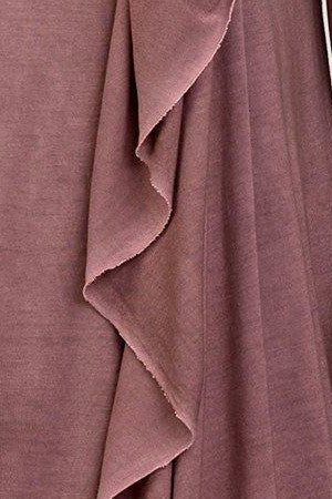 UNCONDITIONAL Grape sleeveless drape front dress with self belt