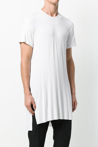 UNCONDITIONAL AW19 All White long sleeved bondage shirt.