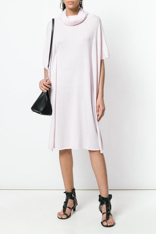 UNCONDITIONAL SS18 white rayon tunic dress.