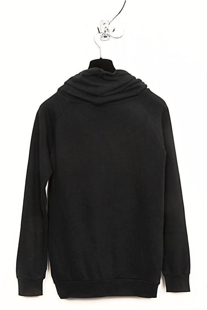 UNCONDITIONAL Black Signature 'Prometheus' funnel neck sweat