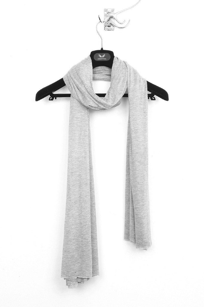 UNCONDITIONAL Cashmere touch loose knit rayon scarf.