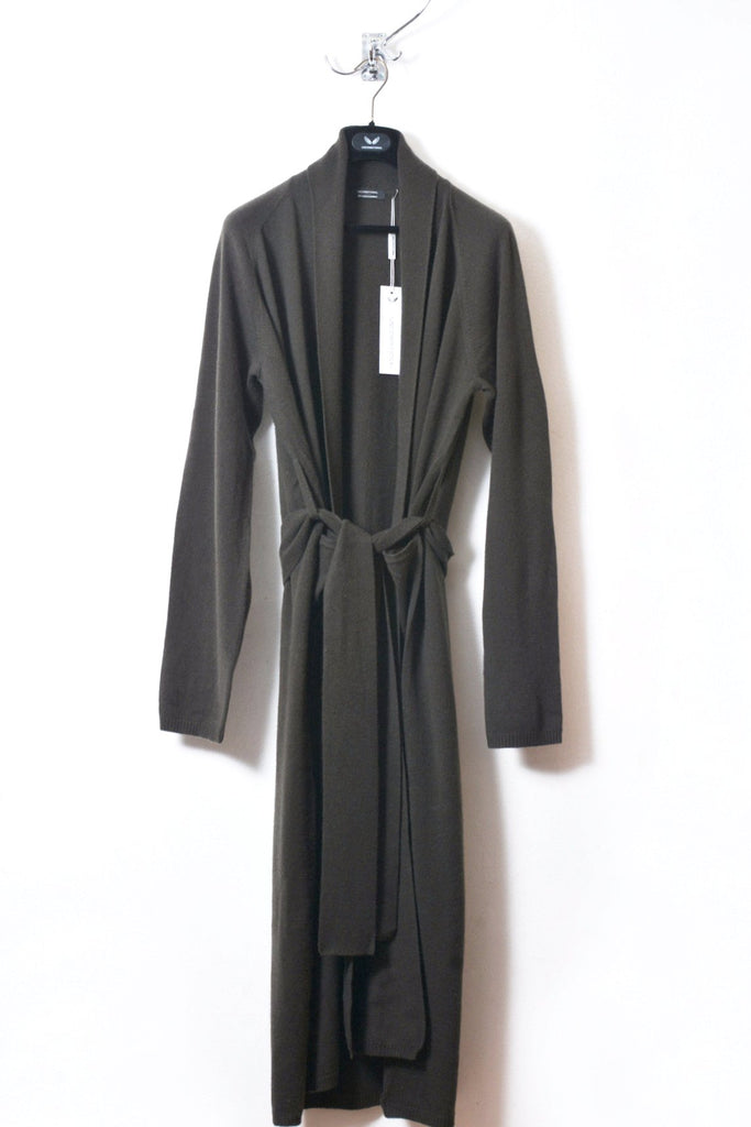59371b81bc UNCONDITIONAL AW18 military full length ladies cashmere dressing gown.