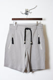 UNCONDITIONAL Stone heavy jersey shorts with zip up pockets.