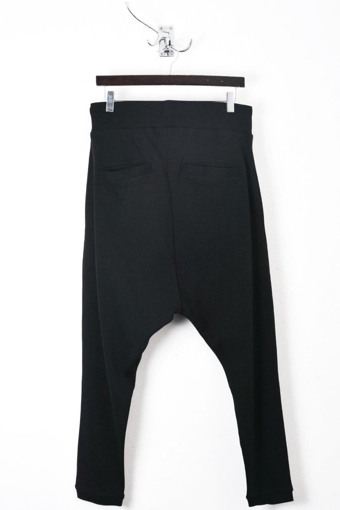 UNCONDITIONAL SS19 Ladies black HAREM trousers with zip pockets