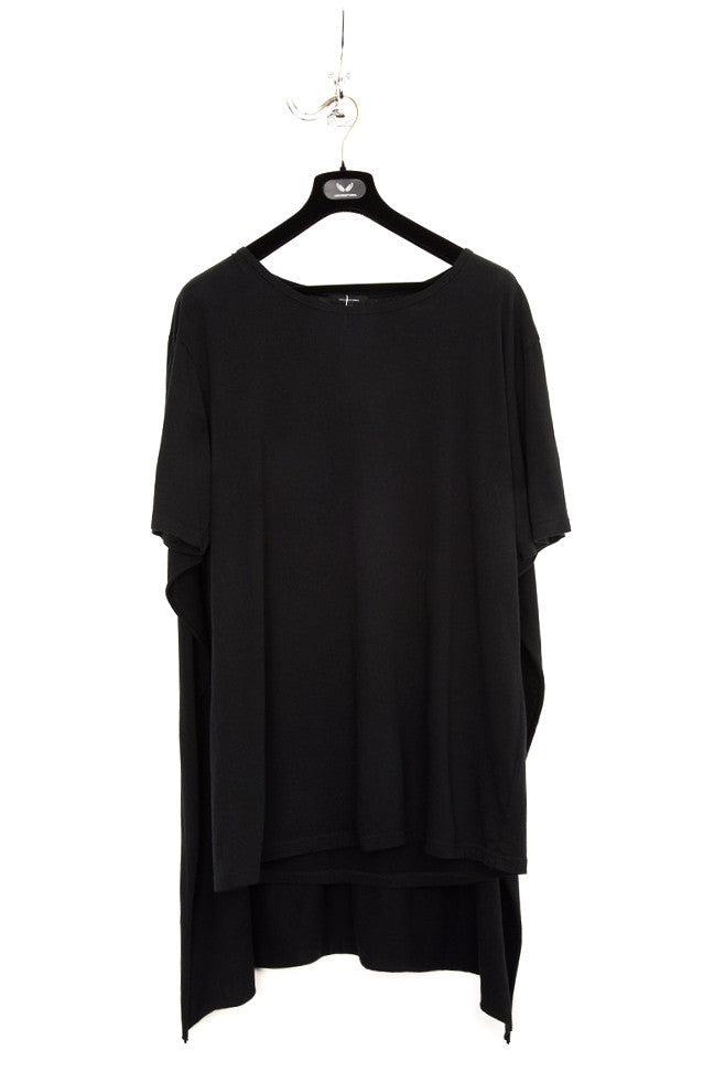 UNCONDITIONAL Signature Black cape T-shirt