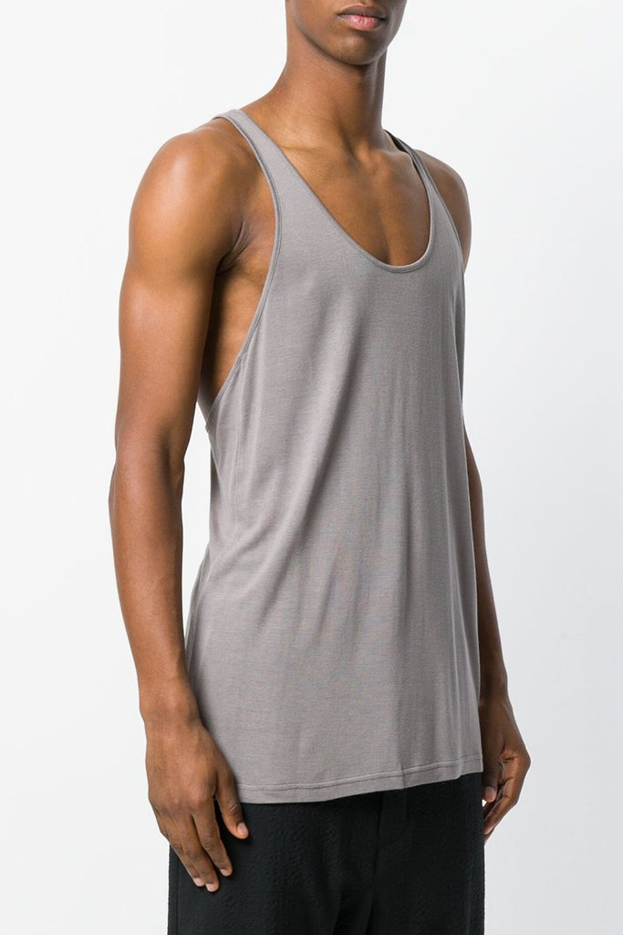 UNCONDITIONAL 2018-19  Mud rayon racer back vest with self binding