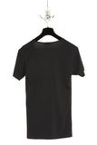 UNCONDITIONAL Black round neck tee with