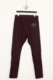 UNCONDITIONAL's signature Damson dropped crotch side-zip 6 pocket jeans.