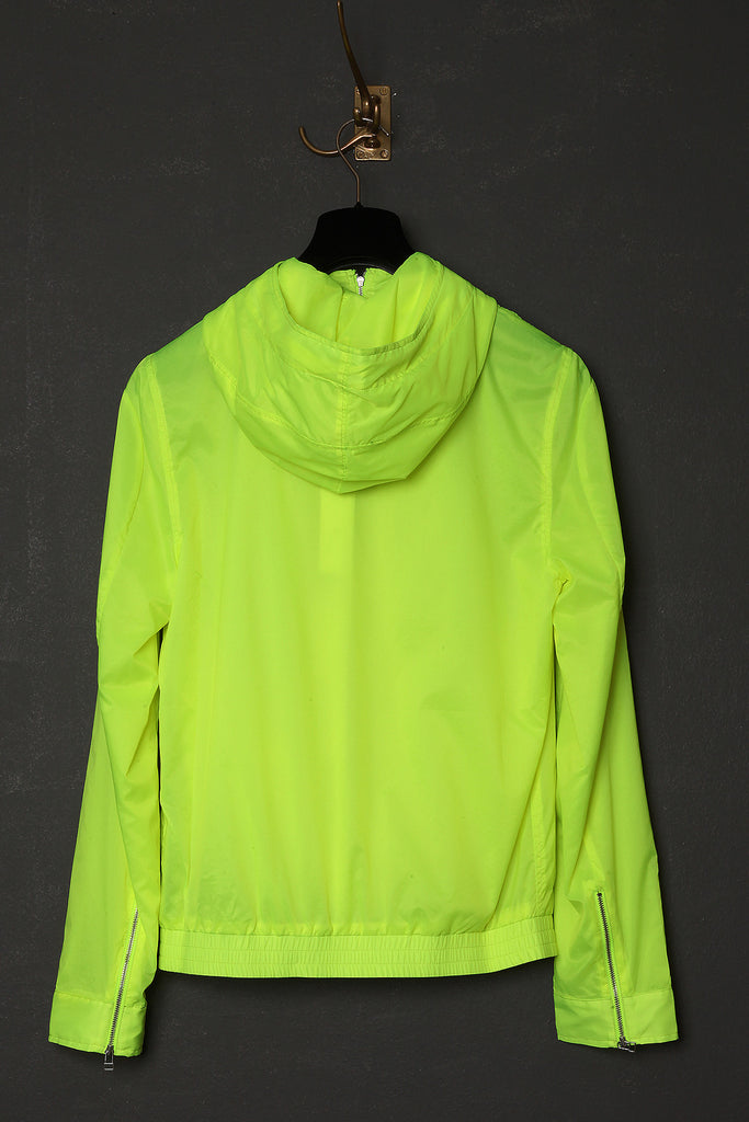 UNCONDITIONAL neon yellow Alphabeat jacket.