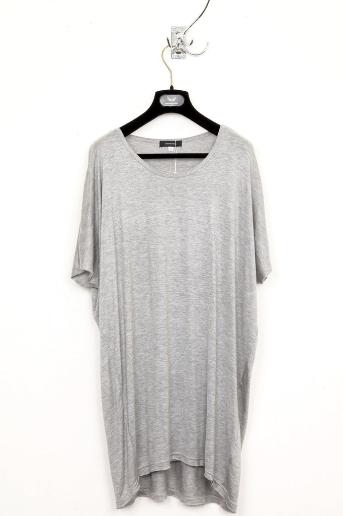 UNCONDITIONAL flannel round neck oversized t-shirt.
