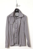 UNCONDITIONAL light grey shirt with double front and collar.