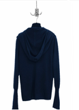 UNCONDITIONAL Womens Midnight Blue cashmere