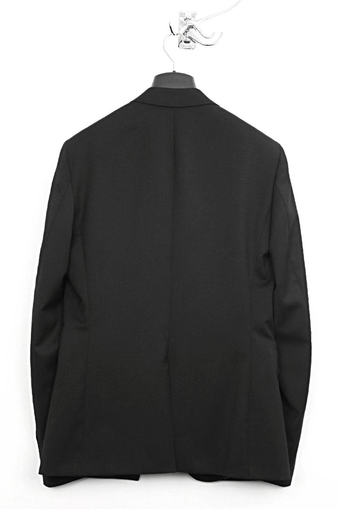 UNCONDITIONAL black one button tailored jacket.