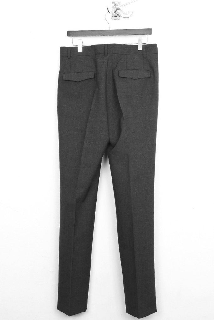 UNCONDITIONAL charcoal cigarette tailored trousers.