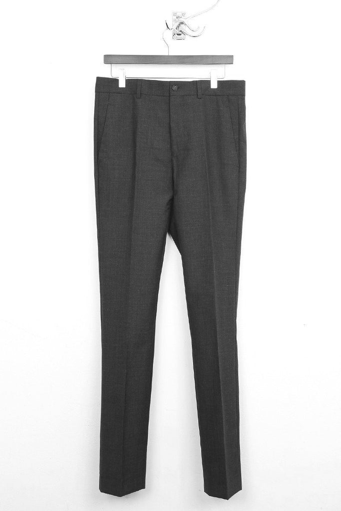UNCONDITIONAL Charcoal Grey wool cigarette tailored trouser