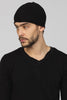 UNCONDITIONAL Dark Grey boiled merino wool skull cap
