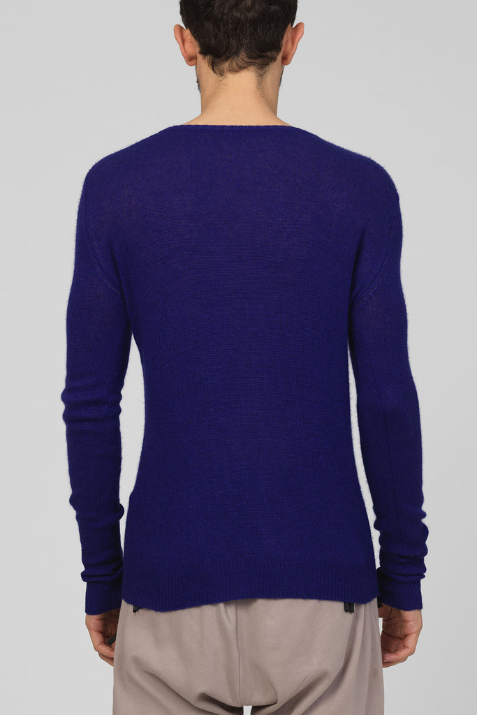 "UNCONDITIONAL SS17 ""Royal""  loose knit round neck jumper"