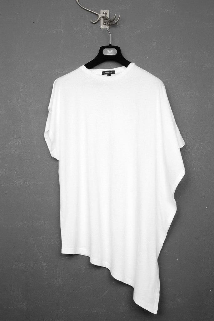 UNCONDITIONAL SS18 Signature White cotton fin T-shirt