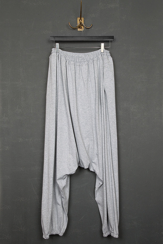 UNCONDITIONAL flannel elasticated cuff mens harem trousers.