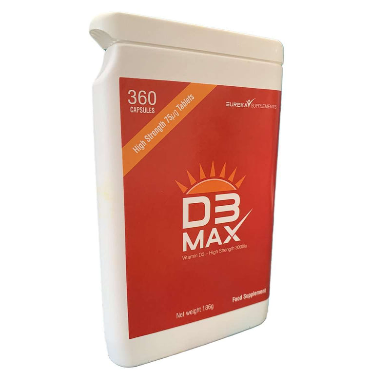 D3Max - Vitamin D3 - High Strength 3000iu