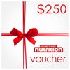 Second To None Nutrition Yeppoon Gift Voucher $250